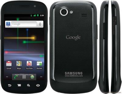 Nuevo Smartphone de Google Nexus S