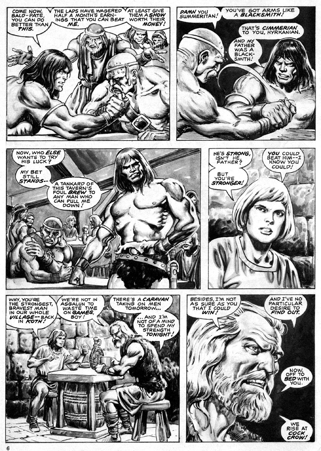 The Savage Sword Of Conan Issue #69 #70 - English 6