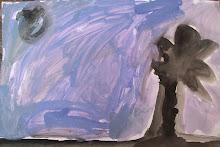 """""""Anochece"""" pintura"""
