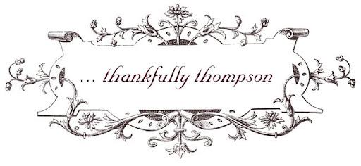 Thankfully Thompson