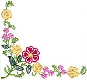 To Download Embroidery In  JEF Format Click Here