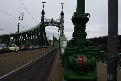 bridge across the Danube from Pest