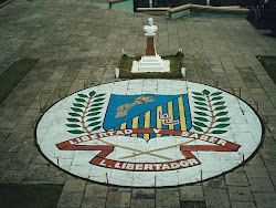 Patio central del Liceo Bolivariano Libertador