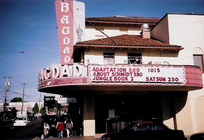 Photo of the Bagdad movie theater in Portland
