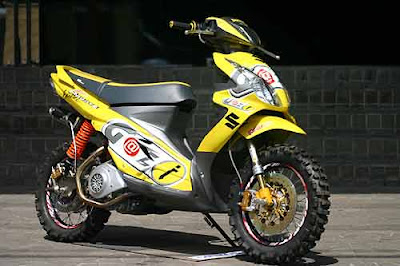modified suzuki hayate from thailand