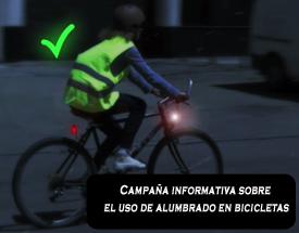 campaña dgt luces reflectante bicis