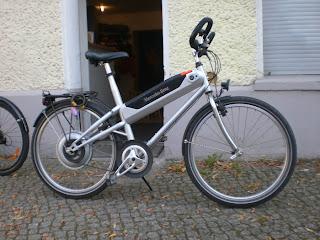 mercedes benz hybrid bike bici eléctrica año 2000