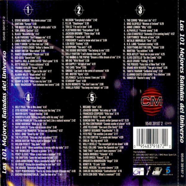 101 mejores canciones de cronicas marcianas: