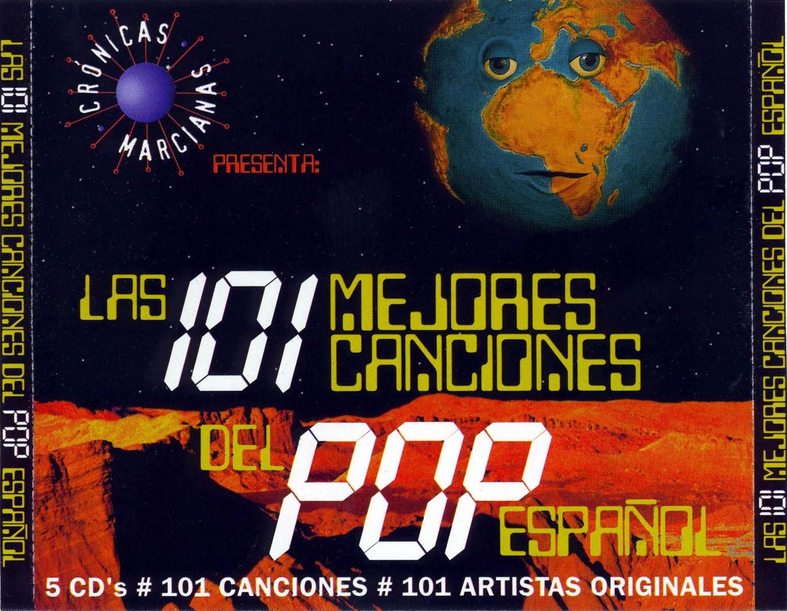 101 mejores canciones pop: