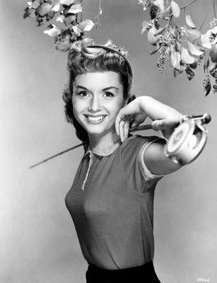 Young Debbie Reynolds male pattern bo...