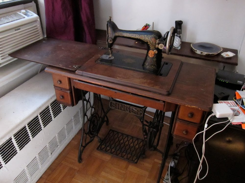 1942 singer sewing machine