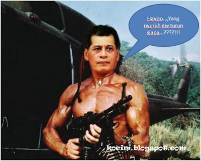 [PICT] Nurdin Ngamuk disuruh turun...pake pistol gan..!!! cekidot