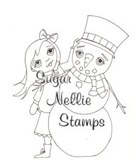 Snowman Candy from Sugar Nellie