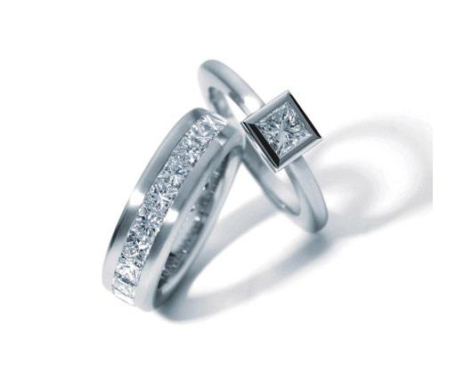 Wedding Fashion Show: Wedding Rings Pandora Charm