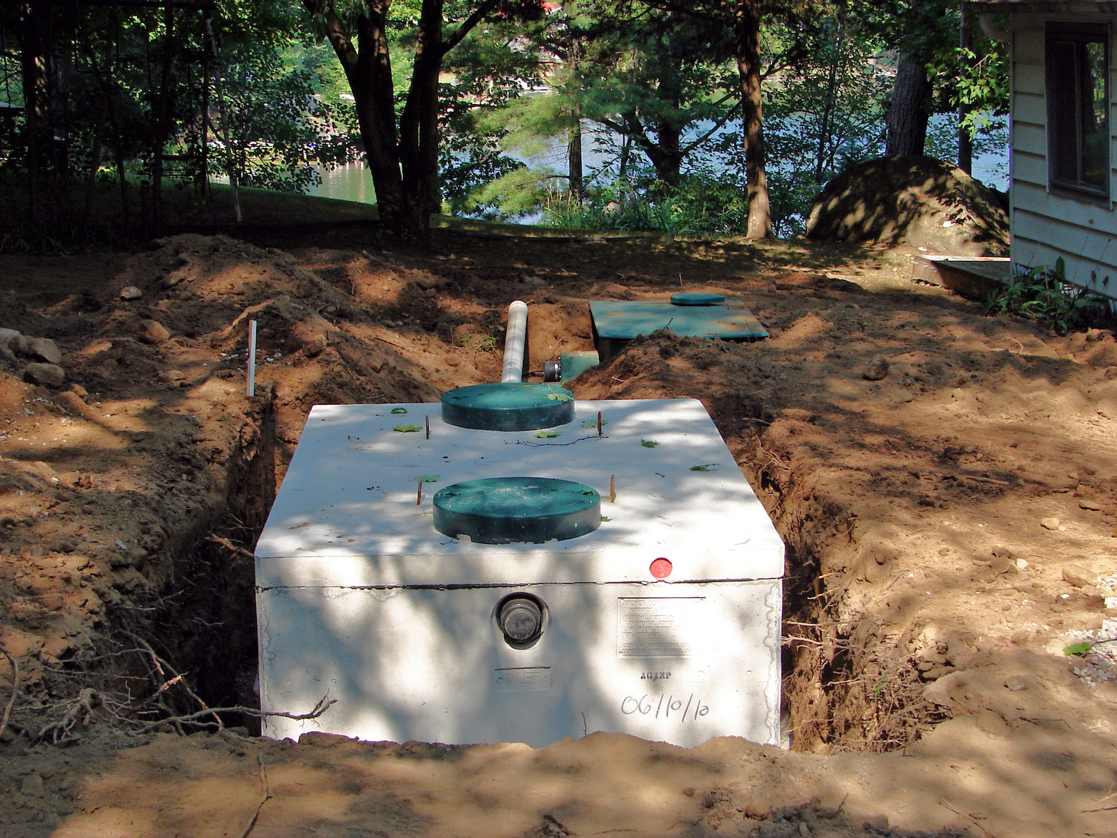 Septic system cont 39 d a j 39 s retirement adventure for Ecoflow septic system