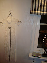 Virkad dopklänning