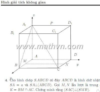 Giải toán hình học không gian bằng phương pháp tọa độ, Nguyễn Phú Khánh, Hồ Phạm Thanh Ngôn