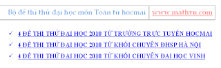 de thi dai hoc mon toan 2010