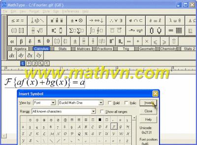 MathType 6.0, MathType 6.5 và MathType 6.7 full serial keygen download