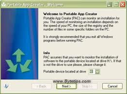 Portable Application Creator