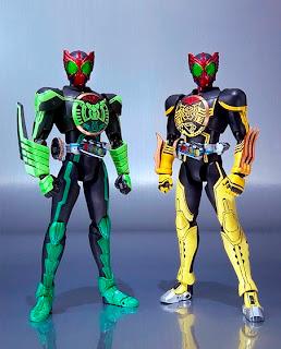 SH FiguArts Kamen Rider OOO TakaKiriBa & TakaToraTah