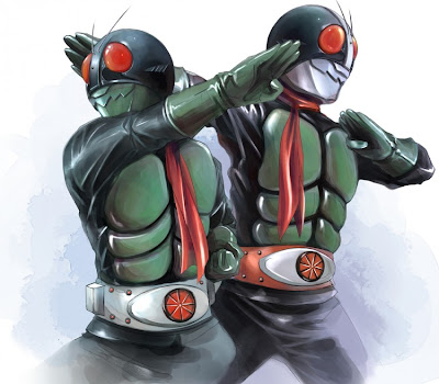 Kamen Rider Ichigo and Nigo