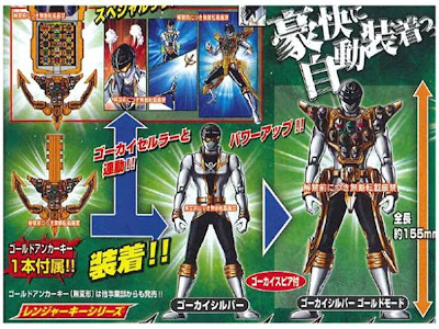 GOKAIGER 6TH WARRIOR: GOKAISILVER REVEALED!