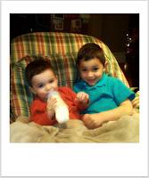 Kid #1 and Kid #2