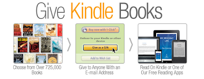 PRE-HOLIDAY BULLETIN: YOU CAN NOW GIVE KINDLE BOOKS TO ANYONE WITH AN EMAIL ADDRESS!