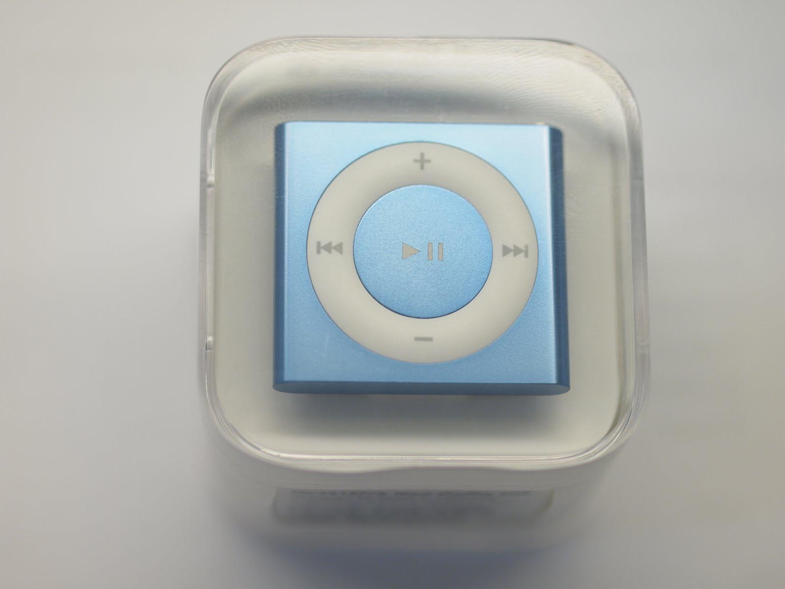 ipod shuffle 2010