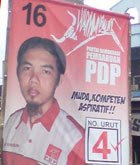 kampanye damai ahmad dhani-pemenang pemilu 2009