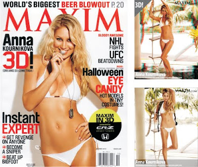 Sexy Bikini Anna Kournikova Photo Shoot Video Maxim October 2010