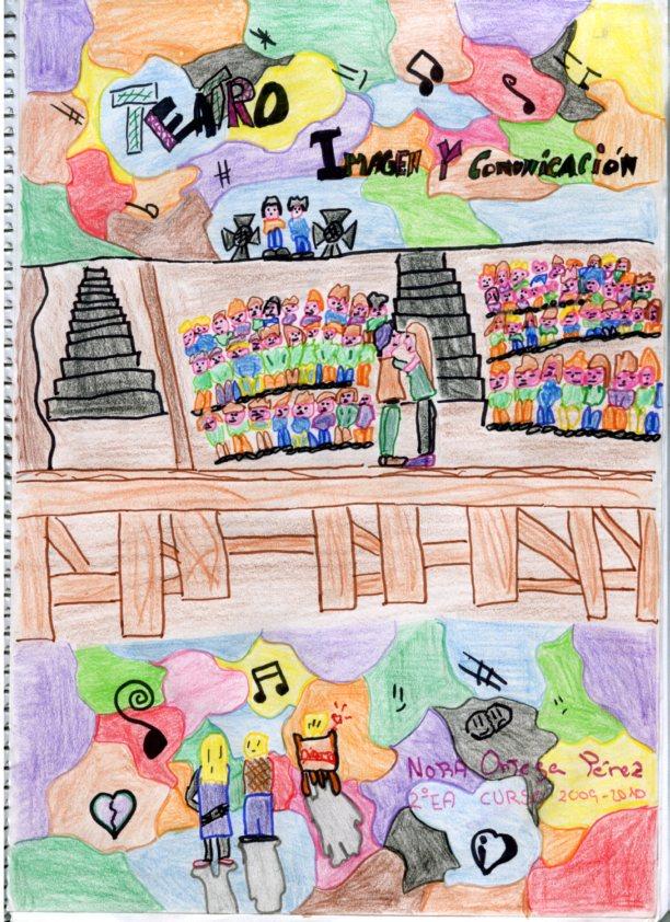 Arte y comunicaci n visual l mina 2 portadas del cuaderno for Caratulas de artes plasticas para secundaria