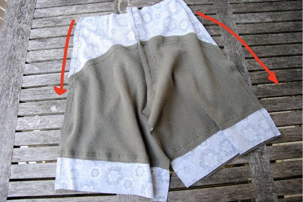 Как самому сшить шорты для мальчика 133