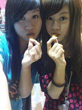 yuubi&yuuka吃烤地瓜