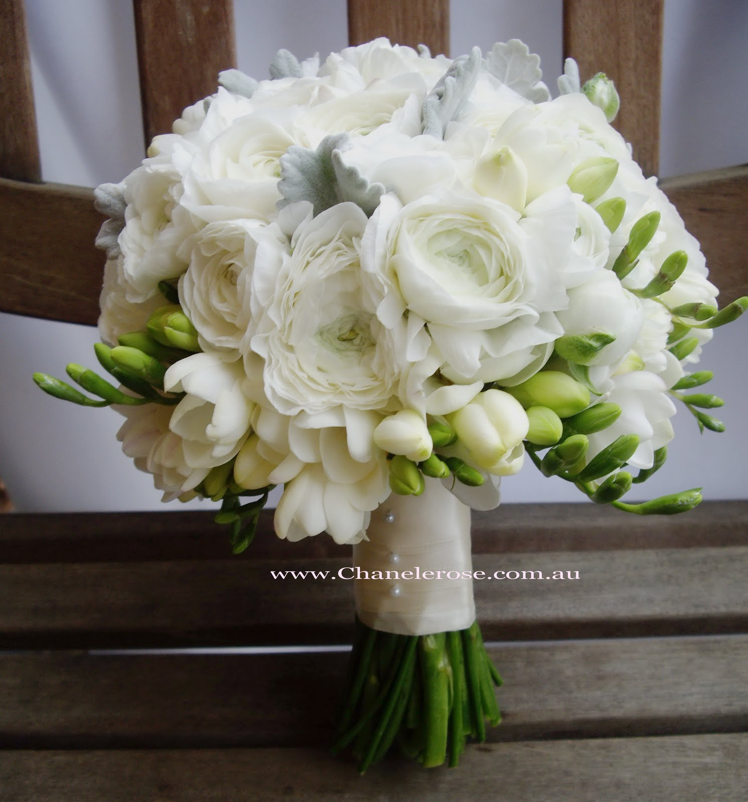 Chanele rose flowers blog sydney wedding stylist florist white rannunculus bridal bouquet mightylinksfo