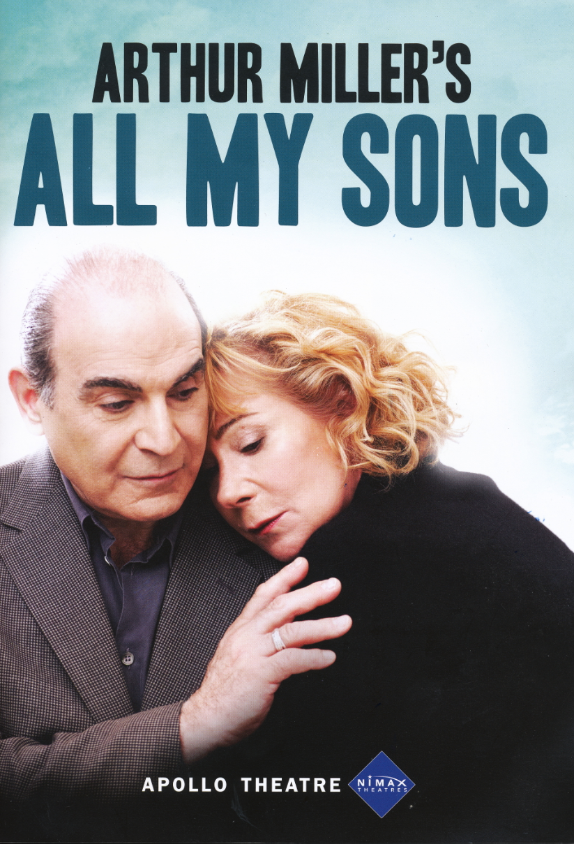 an analysis of the 1947 play all my sons by arthur miller All my sons, arthur miller's post-war drama and first broadway success  premiered in 1947—before death of a salesman or the crucible or a view from  the bridge it is one of the most revered and consistently revived of miller's plays ( see  a lot about this review writer's inability to properly analyze a play.