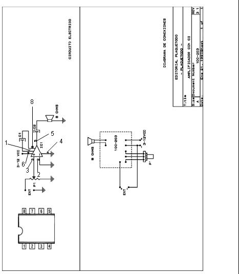 xvok2  amplificador de audio de baja tension