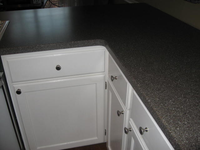 About An Hour Later And My Sterile White Kitchen Was Long Gone. Say Hello  To Beautiful Mesa Granite LG Hi Macs: