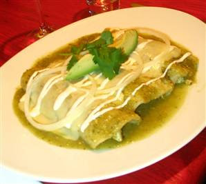 CHEESE ENCHILADA RECIPES: Enchiladas Suiza