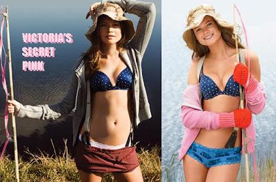Victoria's Secret Pink, sexy lingerie