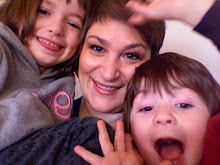 Sarah Vine and two absurdly adorable children