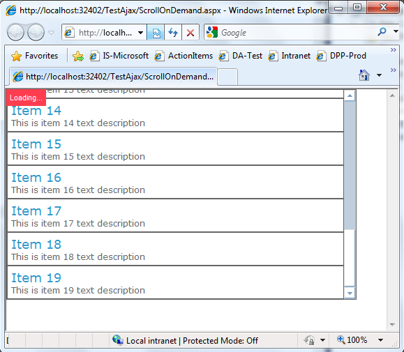 Scrollable div and populate data on demand eran hefer 39 s asp net ajax blog - Html scrollable div ...