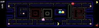 PacMan 30 aniversario logo de Google