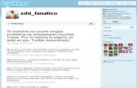 Sdd Fanatico está en Twitter y pronto tendrá nueva web sdd solo descargas fanatico solo descargas directas sdd en twitter