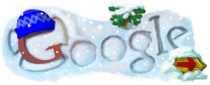 Logo de Google: inicio del invierno.