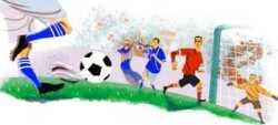 Mundial 2010: logo de Google