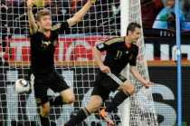 Goles de Alemania Argentina, Alemania 4 Argentina 0, Alemania clasificada, Argentina eliminada