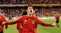 Gol de España a Portugal España 1 Portugal 0