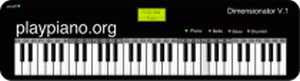 Piano virtual online Play Piano